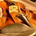 violon accidenté